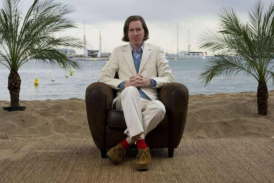 Director Wes Anderson poses for a portrait to promote his film Moonrise Kingdom at the 65th international film festival, in Cannes, southern France, Friday, May 18, 2012. (AP Photo/Jonathan Short) Photo: Jonathan Short, Associated Press