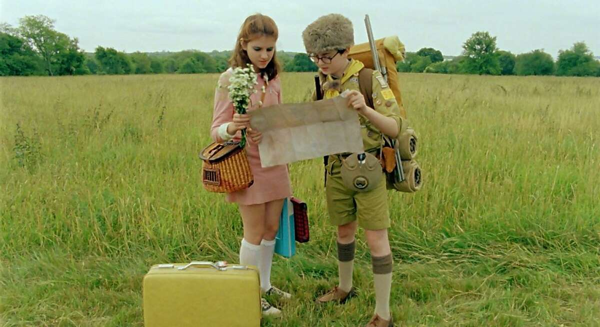 ((l to r.) Newcomers Kara Hayward and Jared Gilman stars as Suzy and Sam in Wes Anderson's MOONRISE KINGDOM, a Focus Features release. (l to r.) Newcomers Kara Hayward and Jared Gilman stars as Suzy and Sam in Wes Anderson's MOONRISE KINGDOM, a Focus Features release. Credit: Focus Features