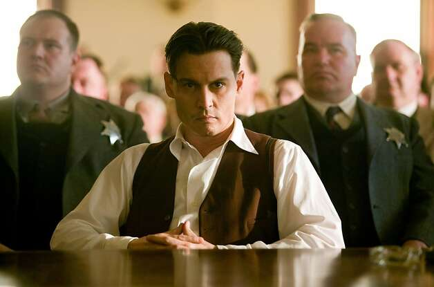 "Johnny Depp in ""Public Enemies."" Photo: Universal PETER MOUNTAIN"