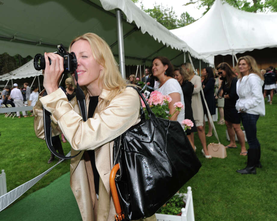 Shawna Doster of Greenwich during the Greenwich Academy Graduation at the main campus in Greenwich, Thursday, May 24, 2012. Photo: Bob Luckey / Greenwich Time
