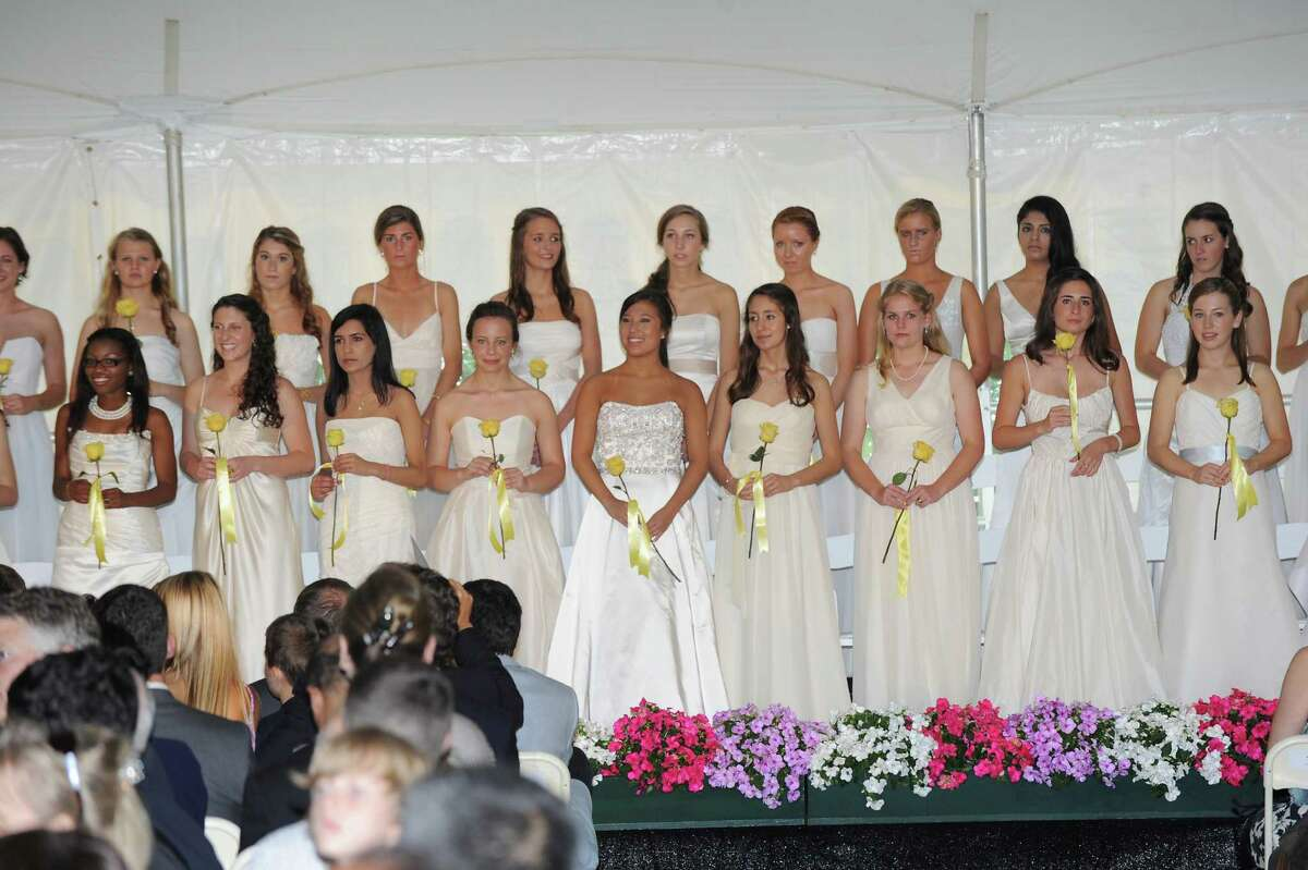 The Greenwich Academy Graduation at the main campus in Greenwich, Thursday, May 24, 2012.