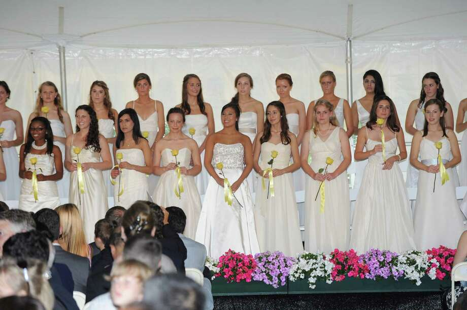 The Greenwich Academy Graduation at the main campus in Greenwich, Thursday, May 24, 2012. Photo: Bob Luckey / Greenwich Time