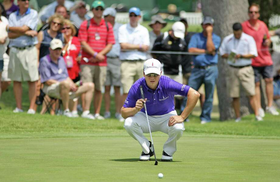 Zach Johnson shot a bogey-free first round at the Colonial on Thursday. Photo: Paul Moseley / Fort Worth Star-Telegram