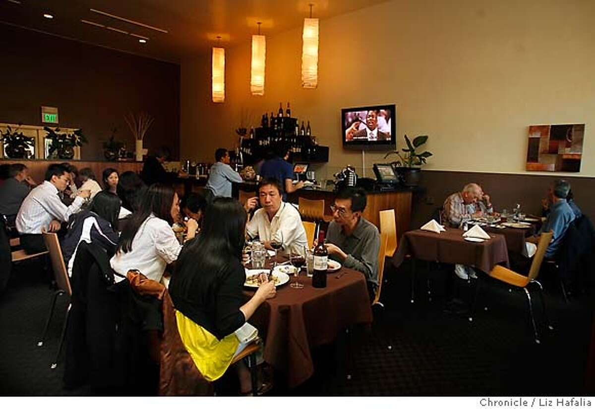DINE13_LH_104.JPG Pisces California Cuisine in the outer Sunset. Photographed by Liz Hafalia/The Chronicle/San Francisco/6/8/07 ** cq MANDATORY CREDIT FOR PHOTOGRAPHER AND SAN FRANCISCO CHRONICLE/NO SALES-MAGS OUT
