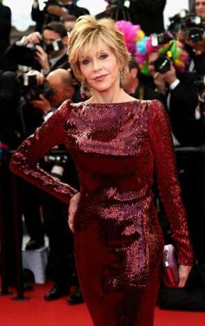"Can you believe she's 74? Jane Fonda attends the ""Madagascar 3: Europe's Most Wanted"" Premiere during the 65th Annual Cannes Film Festival at Palais des Festivals. (Vittorio Zunino Celotto / Getty Im"