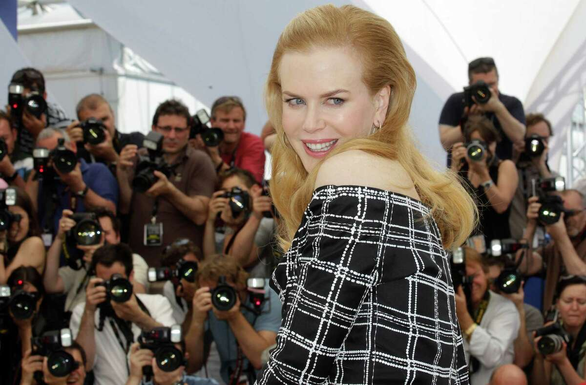 Actress Nicole Kidman poses for photographers during a photo call for Hemmingway and Gellhorn at the 65th international film festival, in Cannes, southern France, Friday, May 25, 2012.