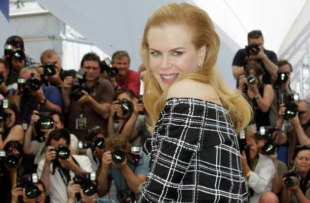 Actress Nicole Kidman poses for photographers during a photo call for Hemmingway and Gellhorn at the 65th international film festival, in Cannes, southern France, Friday, May 25, 2012. Photo: Lionel