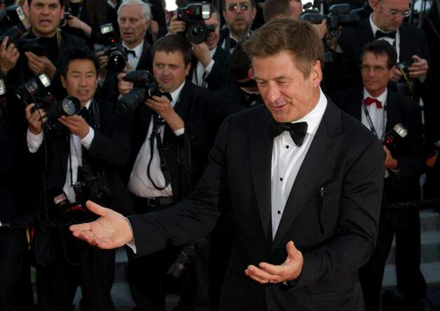 Actor Alec Baldwin arrives for the screening of Killing Them Softly at the 65th international film festival, in Cannes, southern France, Tuesday, May 22, 2012. Photo: Jonathan Short, AP / SHORJ