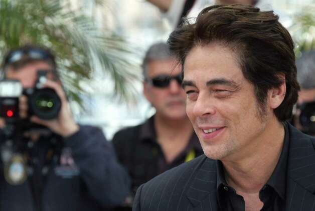 Actor Benicio Del Toro poses during a photo call for 7 Days in Havana at the 65th international film festival, in Cannes, southern France, Wednesday, May 23, 2012. Photo: Joel Ryan, AP / AP