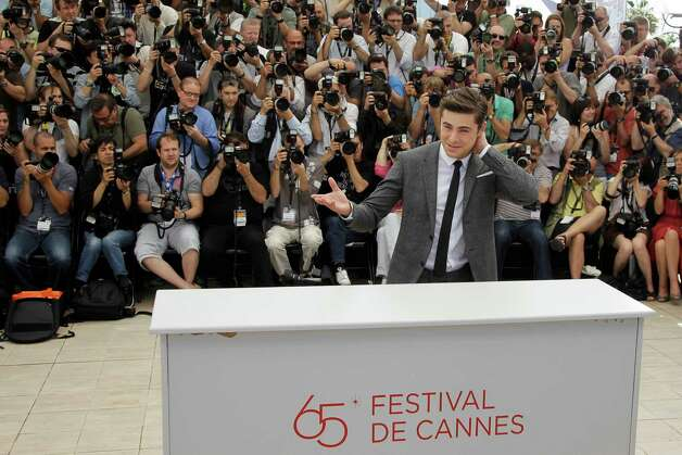Actor Zac Efron poses during a photo call for The Paperboy at the 65th international film festival, in Cannes, southern France, Thursday, May 24, 2012. Photo: Francois Mori, AP / AP
