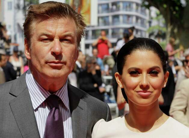 Actor Alec Baldwin, left, and Hilaria Thomas arrive for the screening of Me and You at the 65th international film festival, in Cannes, southern France, Wednesday, May 23, 2012. Photo: Francois Mori,