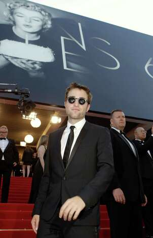 Actor Robert Pattinson arrives for the screening of On the Road at the 65th international film festival, in Cannes, southern France, Wednesday, May 23, 2012. Photo: Lionel Cironneau, AP / AP