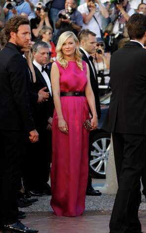 Actress Kirsten Dunst arrives for the screening of On the Road at the 65th international film festival, in Cannes, southern France, Wednesday, May 23, 2012. Photo: Joel Ryan, AP / AP