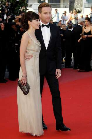 Actor Ewan McGregor, right, and his wife Eve Mavrakis arrive for the screening of On the Road at the 65th international film festival, in Cannes, southern France, Wednesday, May 23, 2012. Photo: Joel