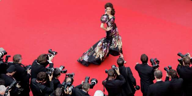 Model Bianca Balti arrives for the screening of Lawless at the 65th international film festival, in Cannes, southern France, Saturday, May 19, 2012. Photo: Virginia Mayo, AP / AP POOL