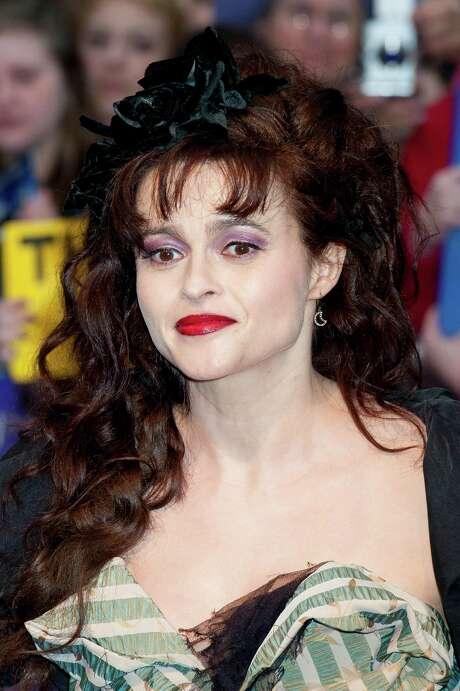 Helena Bonham Carter arrives for the European Premiere of Dark Shadows, at a central London cinema. Wednesday, May 9, 2012. (AP Photo/Jonathan Short) Photo: Jonathan Short / AP