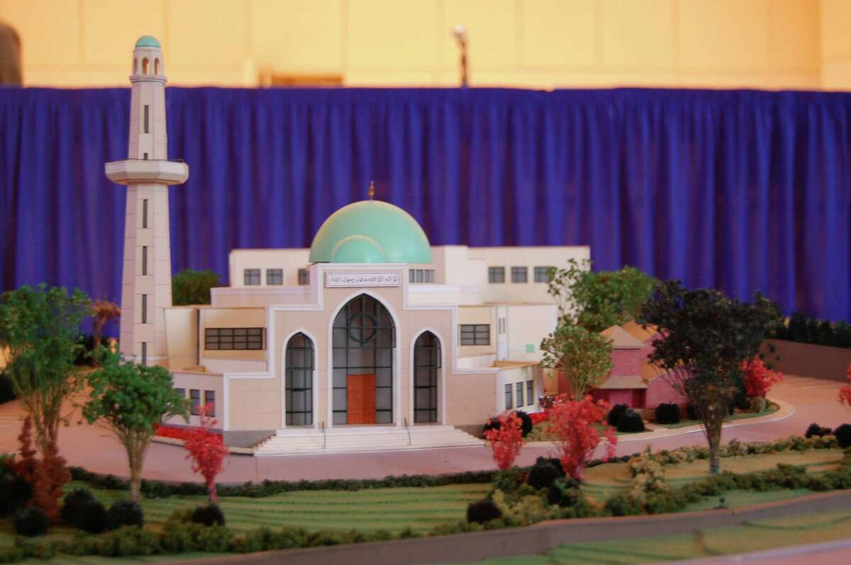 A rendering of a proposed mosque that the Norwalk Planning and Zoning Commission will vote on in June.