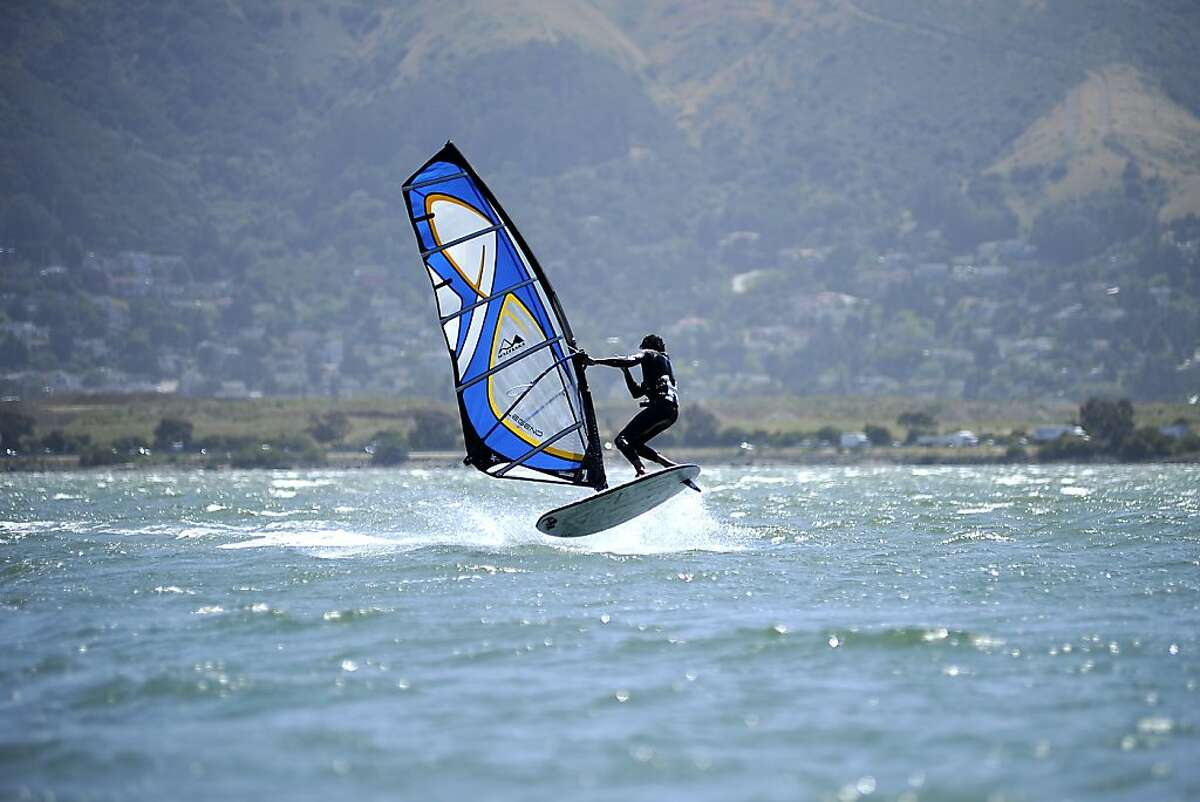 Candlestick Point, popular with windsurfers, has seen a rise in water quality according to an annual report by Heal the Bay. Thursday May 24th, 2012