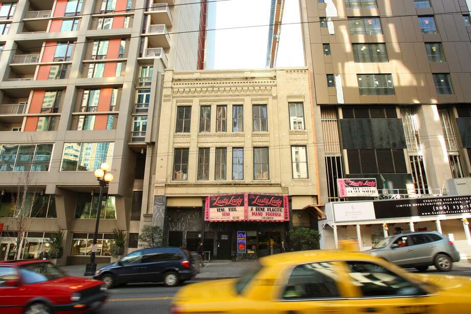 The Lusty Lady was a peep show strip club on First Ave. that existed from1985 to 2010.It was housed in the historic 'Seven Seas' Building that was built circa 1890. (Staff Photo/Seattle Post-Intelligencer/Mike Kane)