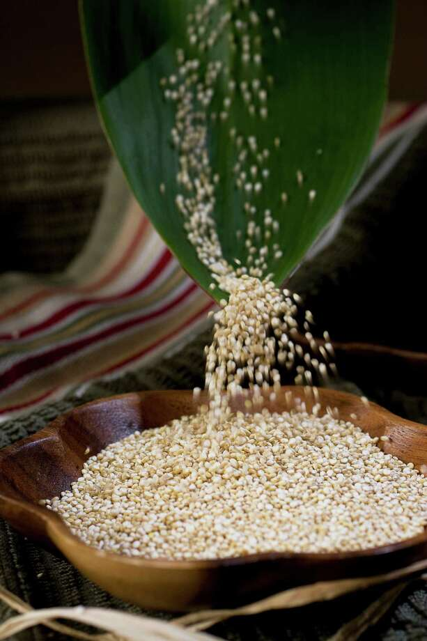 Cut out the fat found in red meats and eat more of the good stuff, such as quinoa. It's one of the rare vegetable sources of complete protein. Photo: File Photo, McClatchy / Fort Worth Star-Telegram