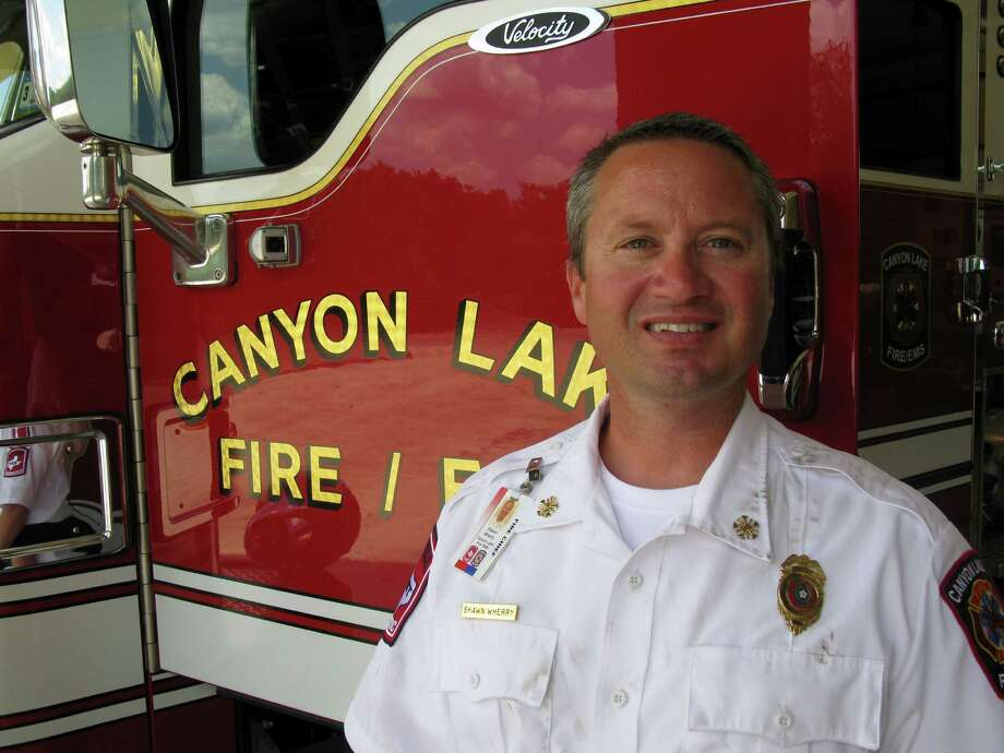 Canyon Lake Fire Chief Shawn Wherry.
