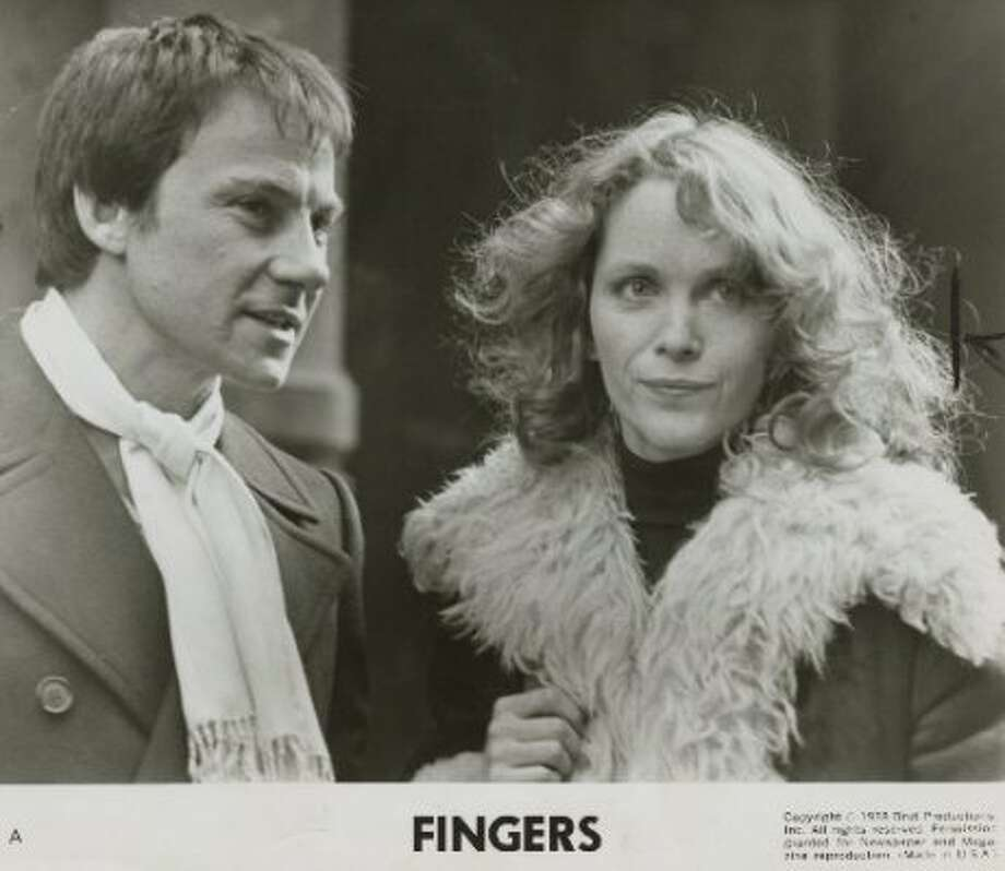 FINGERS:  OK, the still is from Fingers, but the sex scene that's memorable does not involve Tisa Farrow but Keitel and Tanya Roberts. (Legacy Photo / San Francisco Chronicle)