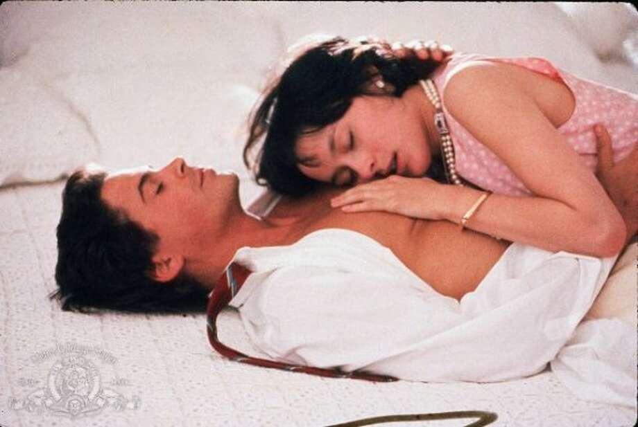MASQUERADE -- Rob Lowe and Meg Tilley in 1988. (MGM / 1988 Metro-Goldwyn-Mayer Studios Inc.)