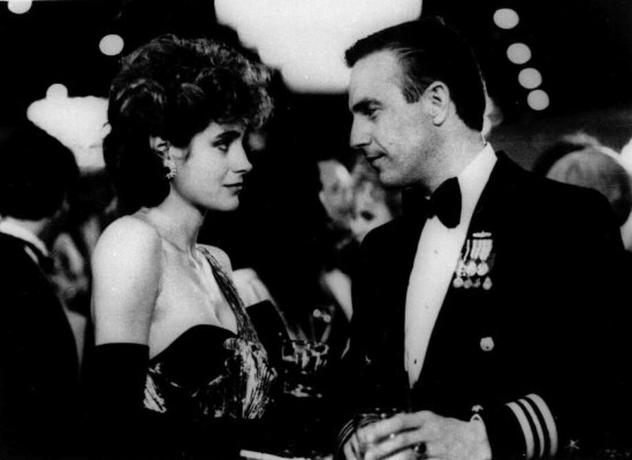 "Sean Young and Kevin Costner in ""No Way Out.""  (ASSOCIATED PRESS)"