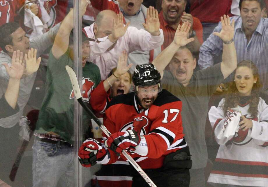 Ilya Kovalchuk gave the Devils a two-goal lead in the first period, but New Jersey wound up needing overtime to put away the Rangers 3-2. Photo: Frank Franklin II / AP