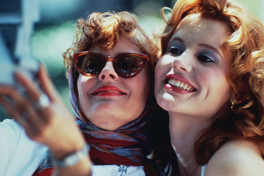 "Has it really been 21 years since ""Thelma & Louise"" came out? It was directed by filmmaker Sir Ridley Scott, known for some great iconic films and atmospheric movies. Scott turned 75 on Friday, Nov. 30, 2012, so here's a gallery of his work and stars over the years. ""Thelma & Louise"" starred Susan Sarandon (L) and Geena Davis."