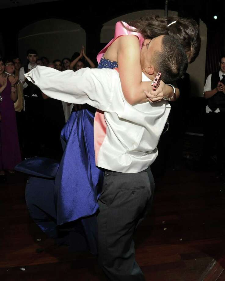 The Danbury High School Senior Prom was held on Friday, May 25, 2012 at the Amber Room in Danbury. Photo: Lisa Weir