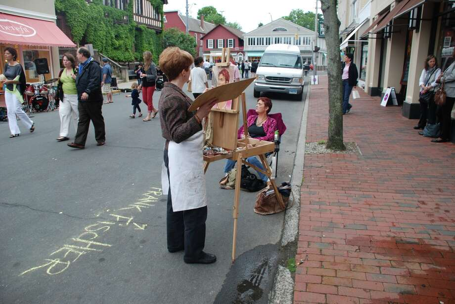 5/24/12 Art About Town in Westport. Photo: Michael Spero / Hearst Connecticut Media Group