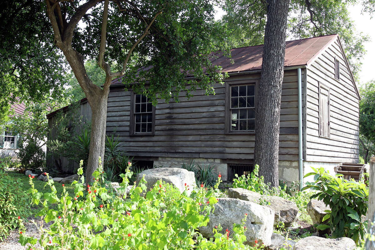 The Yturri-Edmunds House rests on a slight hill not far from the San antonio River on May 25, 2012.