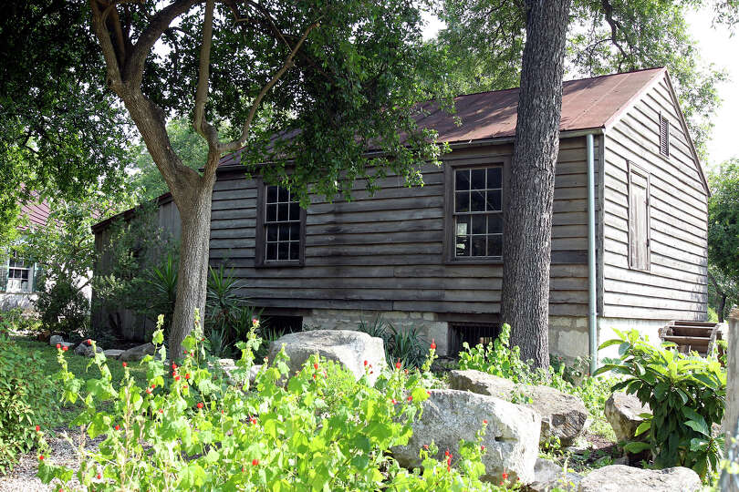 The Yturri-Edmunds House is one of the last remaining adobe-block houses in San Antonio. The