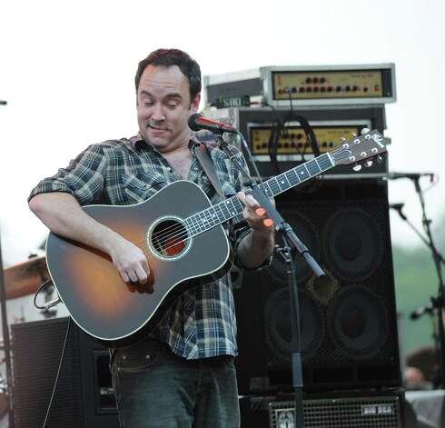 Dave Matthews performs during the Greenwic