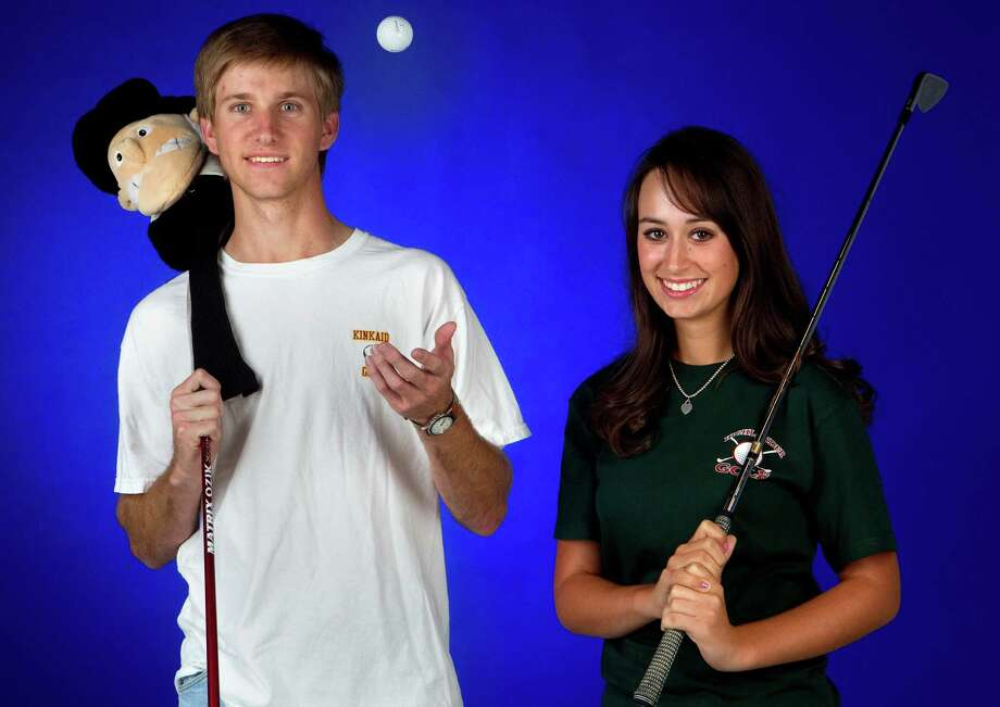Senior Andrew Winters led Kinkaid to a second SPC title and won his first individual crown, while freshman Cheyenne Knight helped The Woodlands to second place at the Class 5A state tournament and tied for fourth individually. Photo: Cody Duty / © 2011 Houston Chronicle