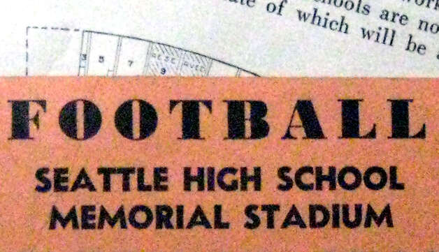 When was Memorial Stadium in Seattle dedicated? Photo: Casey McNerthney