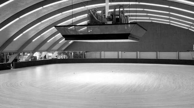 When did the roller skating rink open next to what's now University Village? Photo: Seattlepi.,com File