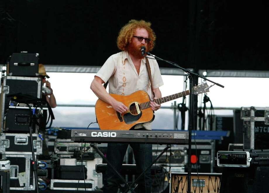 The band Blitzen Trapper performs live. Photo: SOFIA JARAMILLO / SEATTLEPI.COM