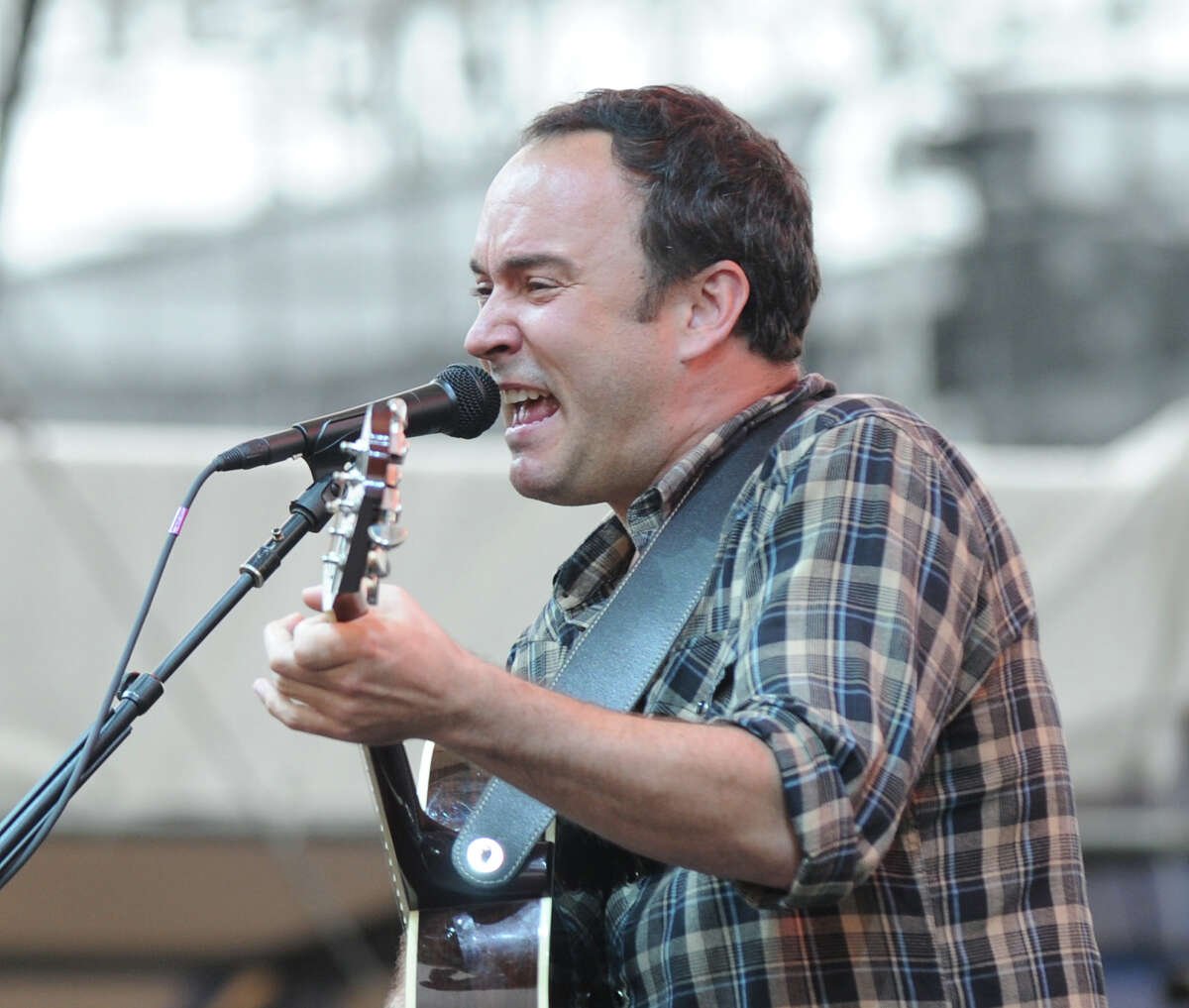 Dave Matthews performs during the Greenwich Town Party at Roger Sherman Baldwin Park, Saturday, May 26, 2012.