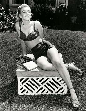 In this image released by Beverly Hills Collection, actress Marilyn Monroe is seen at The Beverly Hills Hotel. The Beverly Hills Hotel is celebrating its 100th Anniversary in May. (AP Photo/Beverly Hills Collection) Photo: Associated Press