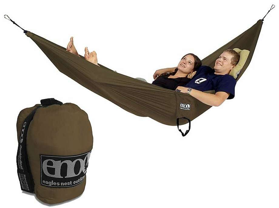 Eagles Nest DoubleNest Hammock Photo: Eaglesnestoutfittersinc.com