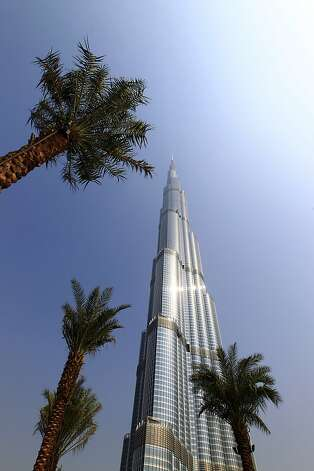 A Picture taken on September 29, 2010 shows the Dubai's Burj Khalifa building, the world's tallest tower. AFP PHOTO / JOEL SAGET (Photo credit should read JOEL SAGET/AFP/Getty Images) Photo: Joel Saget, Getty Images