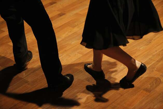 Swing/Lindi hop class at the Savanna Jazz Club on Wednesday, May 23rd, 2012 in  San Francisco, Calif. Photo: Jill Schneider, The Chronicle