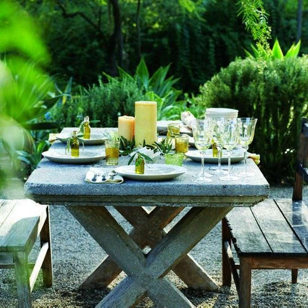 ideas for outdoor dining sfgate