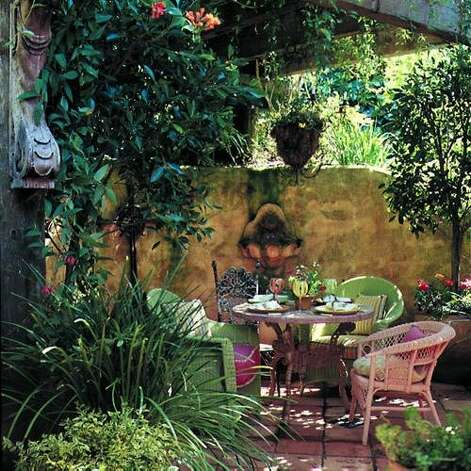 Ideas for Outdoor Dining - SFGate on Uphill Backyard Ideas id=24303