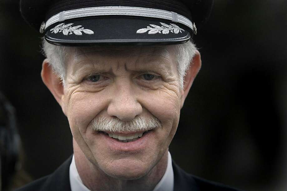 "Capt. Chesley ""Sully"" Sullenberger, who safely ditched US Airways Flight 1549 in the Hudson River in January 2009, announced his retirement at Charlotte/Douglas International Airport in Charlotte, North Carolina in 2010. Photo: Todd Sumlin, MCT"