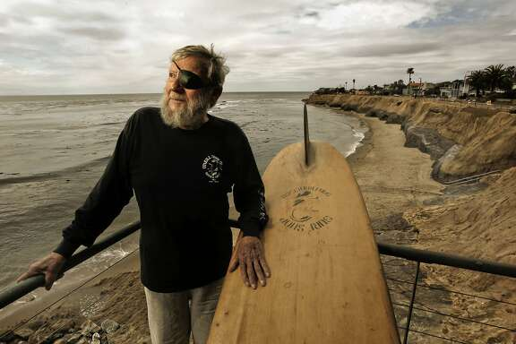 Surf industry pioneer,, Jack O'Neill  at his cliff-side home in Santa Cruz,Ca., on Thursday April 26, 2012.  89-year-old, Jack O'Neill a surf industry pioneer, who invented the wet suit, is celebrating 60 years since he opened the world's first surf shop, in San Francisco in 1952.