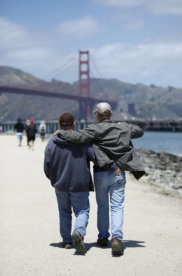 The day before the 75th anniversary of the Golden Gate Bridge on Saturday, May 26th, 2012 in  San Francisco, Calif. Photo: Jill Schneider, The Chronicle