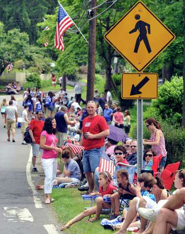 The Brookfield Memorial Day Parade was Sunday, May 27, 2012. Photo: Michael Duffy